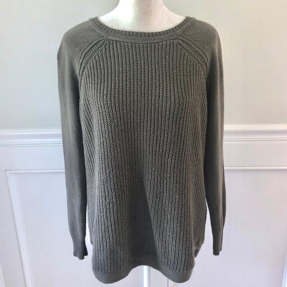 71d8c92297 STITCH FIX RD STYLE Olive Green Knit Cozy Sweater.  M 5b4205a445c8b3fa0a0c7d01